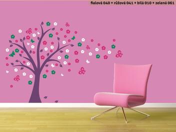 Samolepky na zeď - Pohádkový strom