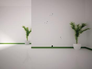 Samolepky na zeď - Vysoká květina
