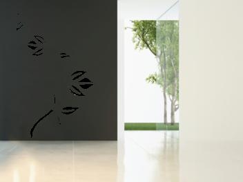 Samolepky na zeď - Popínavá rostlina