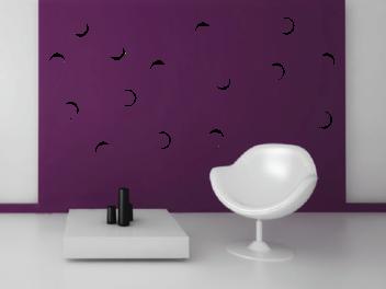 Samolepky na zeď - Dekorativní bubliny