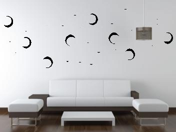 Samolepky na zeď - Kruhy