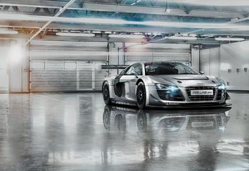 Fototapety - Audi R8 Le Mans