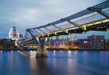 Fototapety - Millennium Bridge