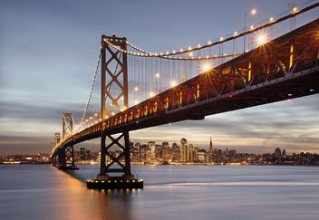 Fototapety - Bay Bridge