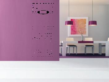 Samolepky na zeď - Rodinná pravidla EN