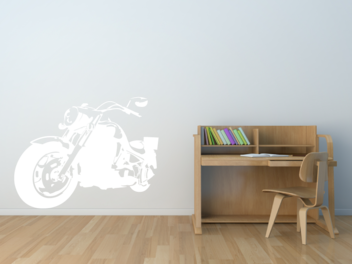 Samolepky na zeď - Harley v2