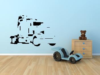 Samolepky na zeď - Kamion