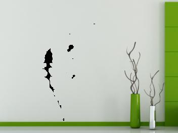 Samolepky na zeď - Pampeliška