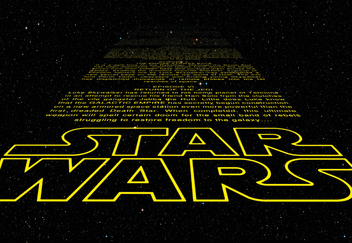 Fototapety - Star Wars Intro