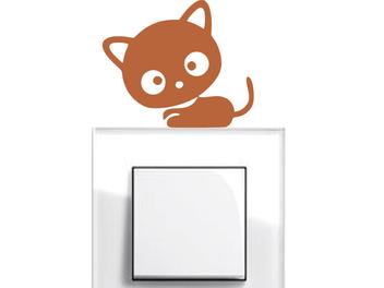 Samolepky na vypínače - Koťátko