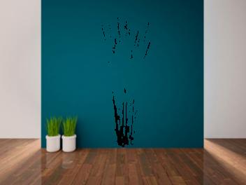 Samolepky na zeď - Tráva V2