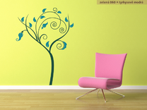 Moderní strom dvoubarevný