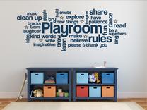 Pravidla dětského pokoje EN