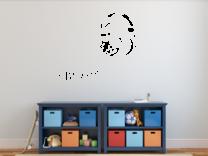 Samolepka na zeď - Sluchátka