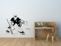Hokejový brankář s vlastním jménem